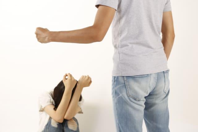 夫婦喧嘩で暴力